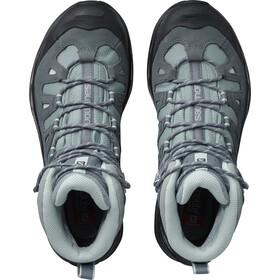 Salomon Quest Prime GTX Shoes Damen lead/stormy weather/eggshell blue